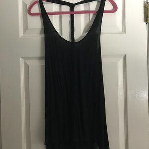 Black athletic tank